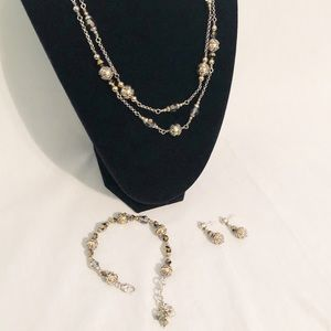 Jewelry - Brighton necklace, bracelet and earring set